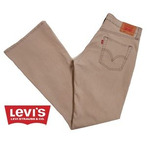 Levi's Low Rise Stretch Flair Jeans 9JR x 31.5L